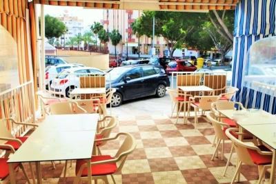 Bar for leasing i Benalmadena - kolde køkken
