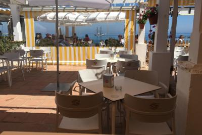 Beach Cafe Bar à vendre Benalmadena - Loyer bas