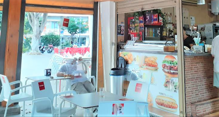 Traspaso Cafe Bar Takeaway en Torremolinos - Super Céntrico !!